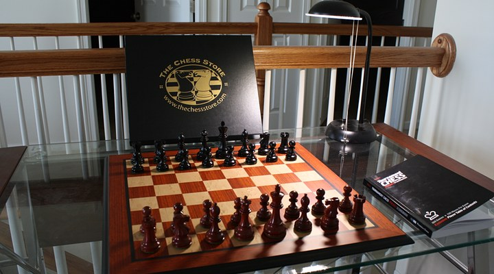 Product Review Chess Store African Padauk Set Campfire