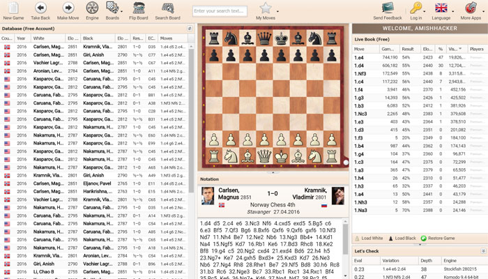 Chessbase Account – Campfire Chess