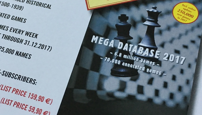 Advanced Reviews of Chessbase 14 and Mega Base 2017