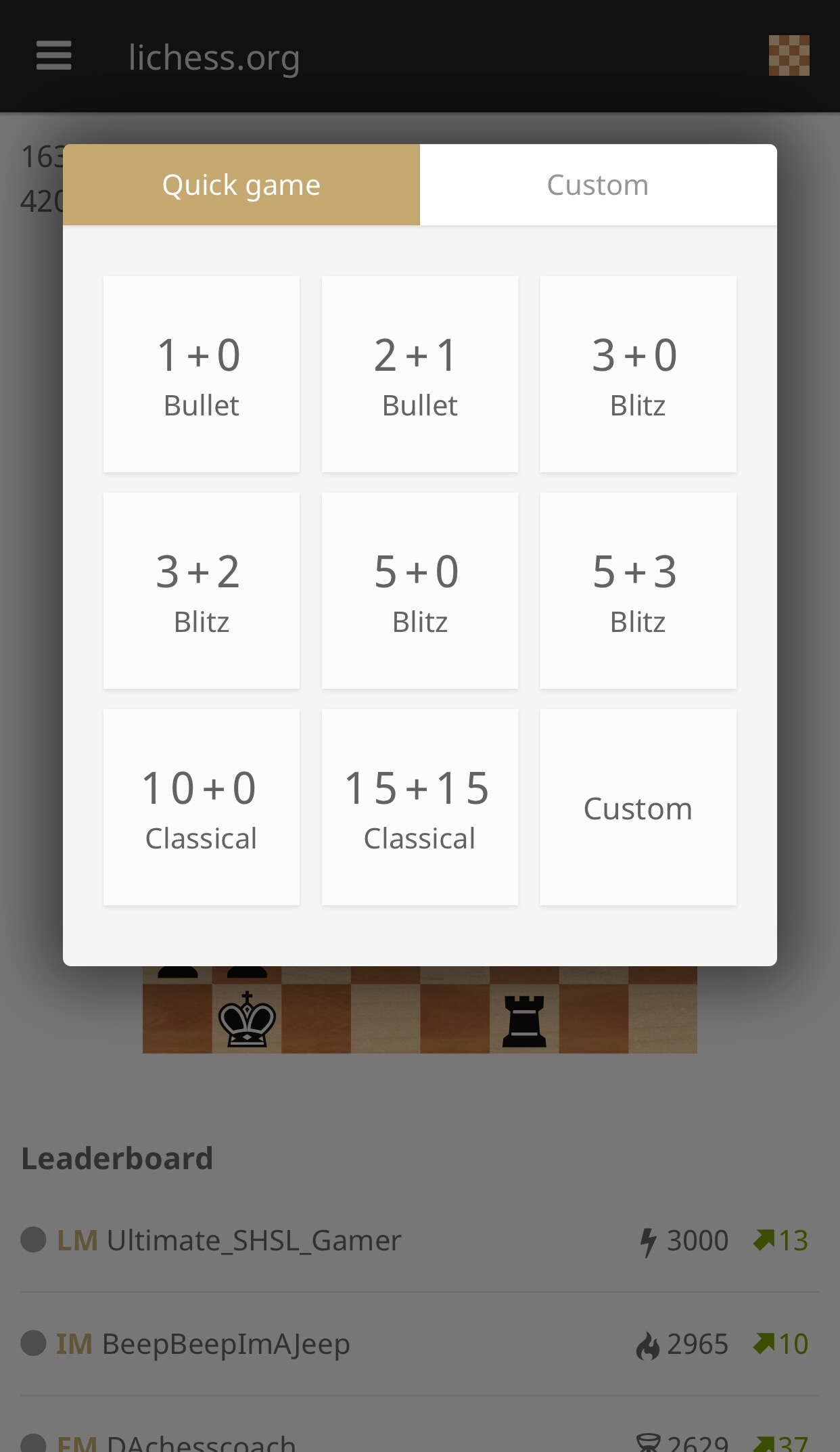 lichess org on iOS Is Mobile Chess At It's Finest – Campfire